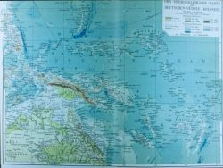 A German map of the seafloor in the equatorial western Pacific Photo