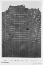 Figure 63 (cont.) An example of a record from the Marti continuous recording sounder. Photo