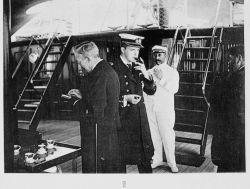 Manuel II, King of Portugal on board Photo