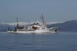 NOAA Ship FAIRWEATHER underway Photo