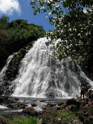 Keprohi (also spelled Kepirohi) Waterfall Photo