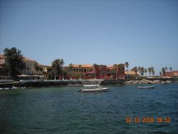 Goree Island, from the 15th to the 19th century, it was the largest slave- trading center on the African coast Photo