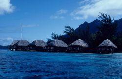 Hotel rooms on Bora Bora Photo