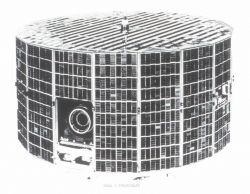 ESSA 2 TIROS satellite launched on February 28, 1966. Photo