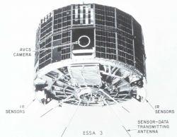 ESSA 3 satellite launched October 2, 1966 Photo