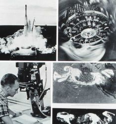 TIROS I images of North Pacific storm system on May 19-20, 1960 Photo