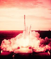 The launch of TIROS I - the birth of the meteorological satellite system Photo