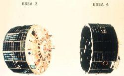 ESSA 3 and ESSA 4, satellites of the TIROS Operational System. Photo