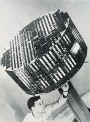 Making adjustments to TIROS II satellite prior to launch Photo