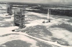 Complex Number 17 at Cape Canaveral where TIROS-carrying Thor-Delta rockets were launched. Photo