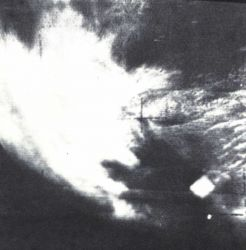 Among the most famous of early satellite weather photographs Image