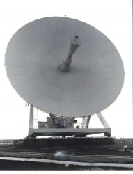 A parabolic antenna at Wallops Island. Photo