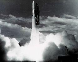 NOAA 2 lifts off. Photo