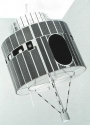 An early GOES satellite. Image