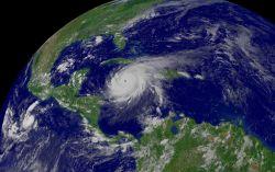 Hurricane Ivan south of Cuba. Photo