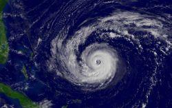 Hurricane Jeanne approaching the Bahama Islands. Photo