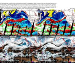 The operational polar-orbiting microwave composite of total moisture in the atmosphere. Photo