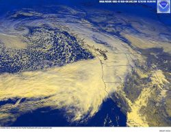 Another storm moves into the Pacific Northwest with snow, wind, and rain Image