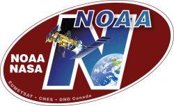 NOAA-N spacecraft decal Photo