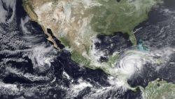 Hurricane Mitch just prior to landfall Photo