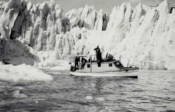 Sounding operations in Taku Inlet Photo