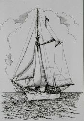 Coast and Geodetic Survey Schooner MATCHLESS Photo