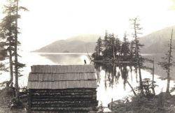 Cabin on Knight Island Photo