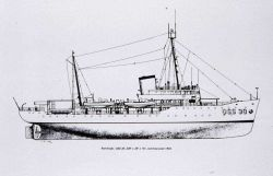 Coast and Geodetic Survey Ship PATHFINDER - line drawing Photo