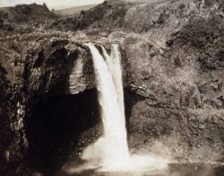 Water fall on big island of Hawaii Photo