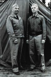 Rear Admiral Leo Otis Colbert and Captain Clement L Photo