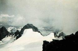 Center peak and east peak of Mount Olympus Photo