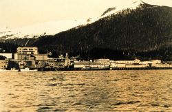 The wharves and canneries of Ketchikan Photo