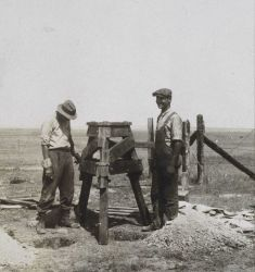Portable observing tripod made of poplar Photo