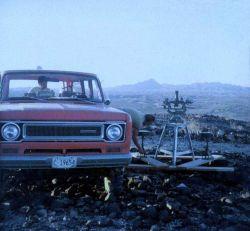 Astro setup in Mojave Desert Image