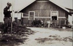 Measuring through house on Pasadena Base Photo