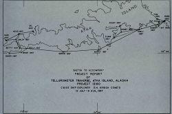 First Tellurometer traverse by C&GS Photo