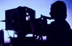 Claude Stevens operating Geodimeter Photo