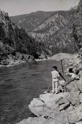 Level observations along the Salmon River Photo