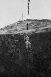 Leveling operations on Anacapa Island Photo