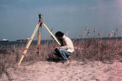 Recording Wild T-2 observations at entrance to Chesapeake Bay Photo