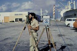 Conducting range-azimuth hydrography in Miami Photo