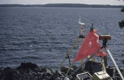 Microwave navigation instrument on east side of Penobscot Bay Photo