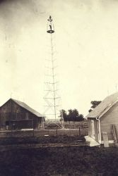 Tower at Station Schnackenburg. Photo
