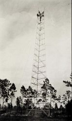 Building the tower at Station Hunter Photo
