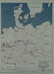 Route of 17th Field Artillery Observation Battalion through Belgium and Germany Photo