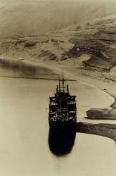 Wrecked Japanese ship at Kiska Photo