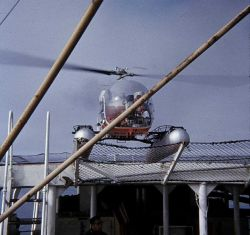 Helicopter support for SURVEYOR operations Photo
