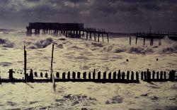 Stormy seas on the east coast Photo