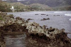 Magellan landing site in Umatac Bay. Photo