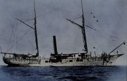 Coast and Geodetic Survey Steamer BLAKE. Photo